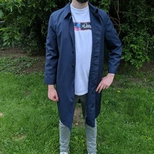 Vintage Sears trench coat.
